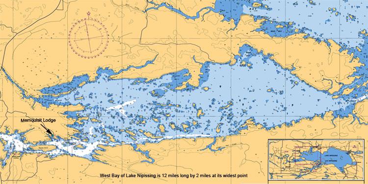 Lake nipissing map images galleries for Fishing lake maps